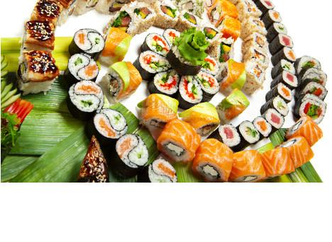 Sushi maisons laffitte cool makis saumon fum avocat avec - Restaurant japonais tapis roulant paris ...